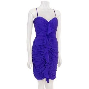 Maggy London Women's Silk Chiffon Dress